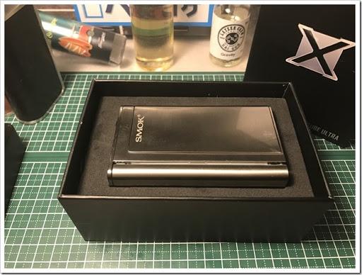 IMG 2298 thumb - 【メカメカテクニカル】SMOK X CUBE Ultra Modかっこいい~!パフボタンも独特でバイブレーションがいちいち鳴るのも新鮮!レビューするのもワクワクなメカメカテクニカル!【VAPE MOD】
