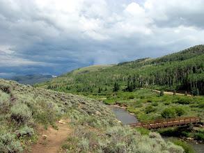 Photo: View downstream