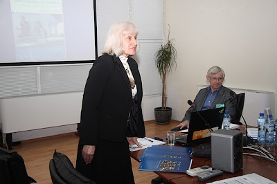 Assoc. Professor Dr Bagrelia Borisova, Vice-Rector for Europen Mobility and Integration, Veliko Turnovo University