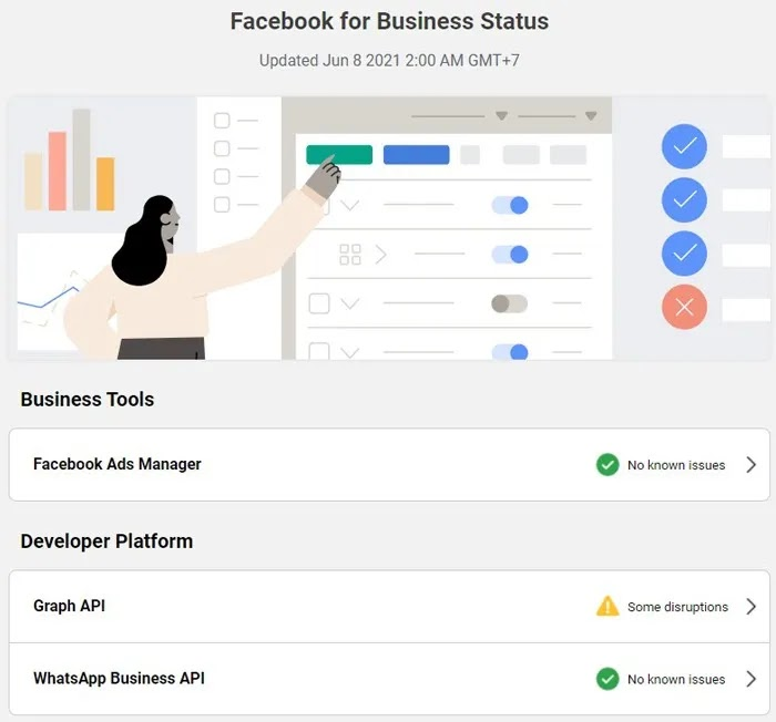 لا يتم تحميل صور Facebook