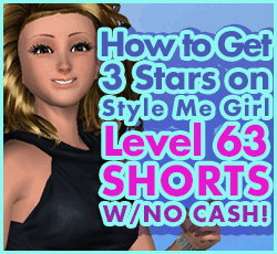 Style Me Girl Level 63 - Shorts - Meena - Stunning! Three Stars