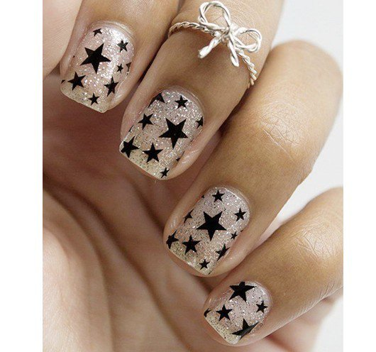THE BEST COOL STAR NAIL ART STYLES WITH MORE IDEAS FOR LADIES IN 2019 8