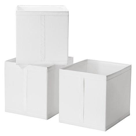 SKUBB ボックス - ホワイト - IKEA