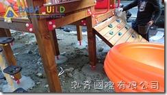 BabyBuild 國際蒙特梭利竹北幼兒園遊具施工組裝