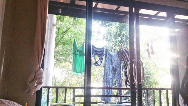 Thailand clothesline
