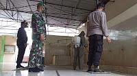 Cegah Penyebaran Covid 19, Brimob Polda Aceh Semprot Rumah Ibadah