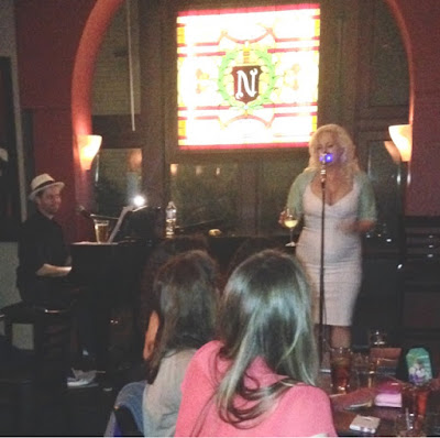 Nikki Luparelli at Back Bay's Club Cafe