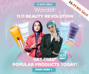 Wardah Shopee 11.11 Beauty Revolution!!