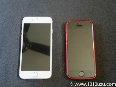 iPhone 6sとiPhone 5s