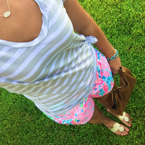 preppy style, how to pattern mix, lilly and jacks