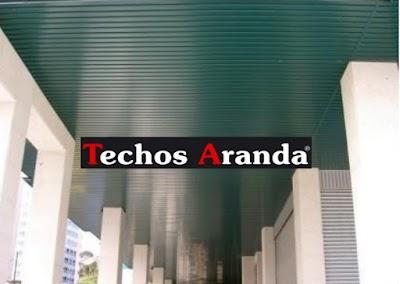 Techos de aluminio en La Acebeda