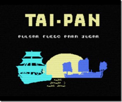 Tai-Pan MSX Inicio