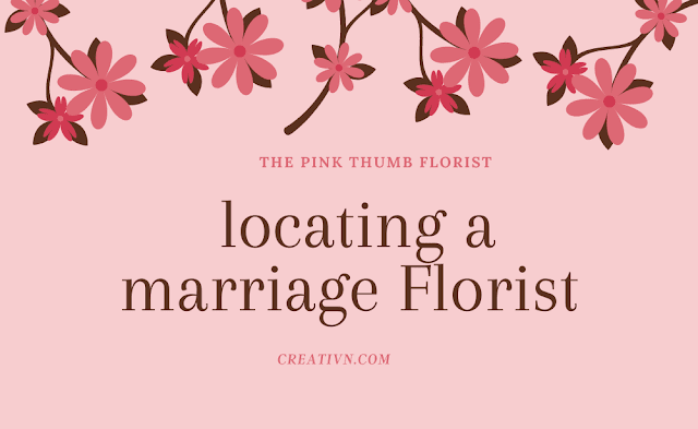 Essential Tips for locating a marriage Florist