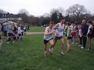 Essex XC relays Highams Park - 12/03/2011