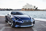 Lexus LF-LC Blue Concept presented at Melbourne [VIDEO]