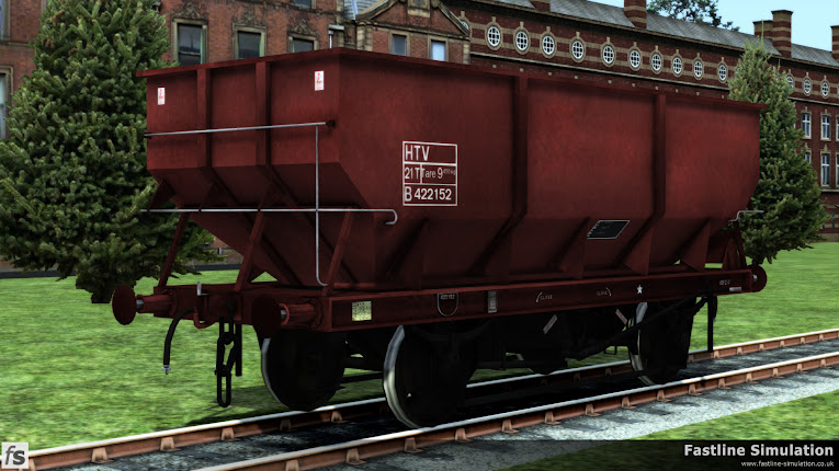 Fastline Simulation: Rebodied dia. 1/146 21t HTV Coal Hoppers