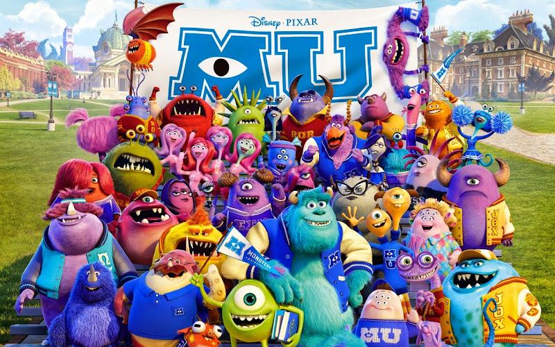 Μπαμπούλες Πανεπιστημίου Monsters University Movie Wallpaper
