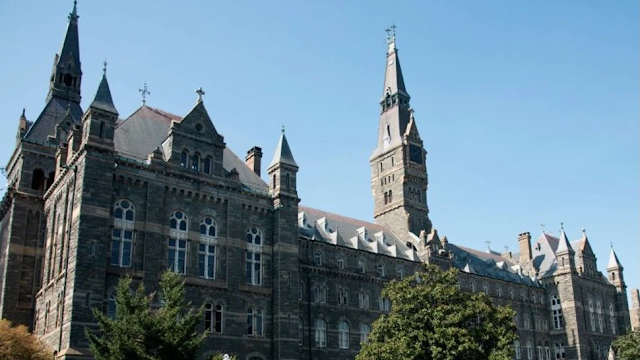 Georgetown Law Professor Fired For Comments About Black Students In Viral Video