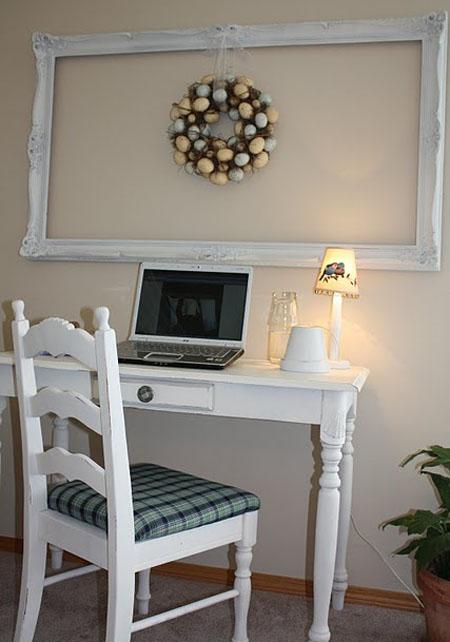 Customizando móveis para escritório - mesa e cadeira customizadas