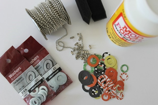 washer necklaces supplies