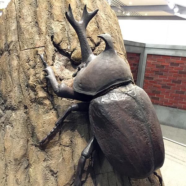 巨大昆虫ワールドにいってきたよ