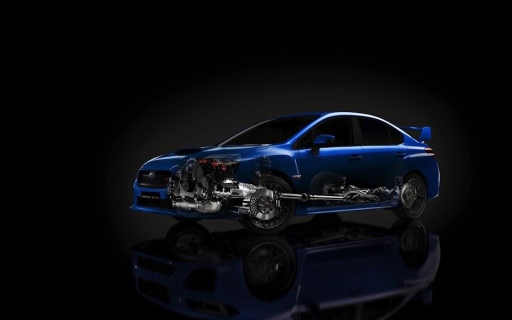 2015 Subaru WRX STI Launch Edition powertrain