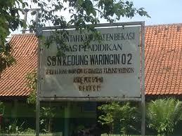 Tampak Sekolah Negeri Di Wilayah Kedung Waringin
