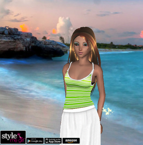 Style Me Girl - Level 55 - Mermaid - Fara - NO CASH ITEMS! - Snapshot