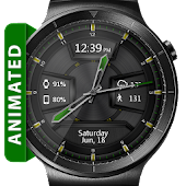 Daring Graphite HD WatchFace Widget Live Wallpaper
