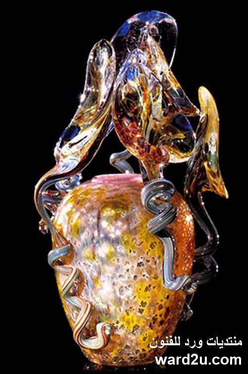 روائع فن الزجاج للفنان Dale Chihuly