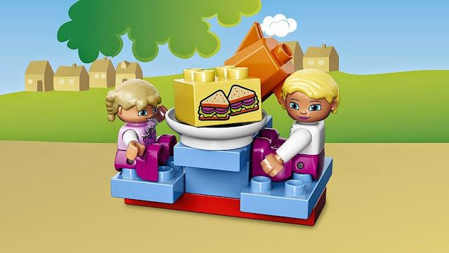 Đồ chơi xếp hình Lego Duplo 10587 Quán Cafe giải khát thật ngộ nghĩnh