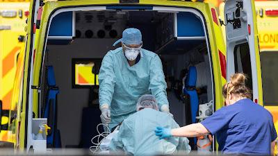 الضغوط على المستشفيات في لندن أجبرت الإدارات على نقل مرضى كوفيد إلى نيوكاسل