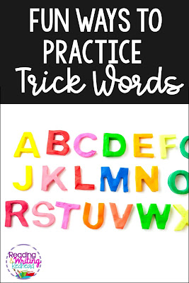 Fun Ways to Practice Spelling Trick Words