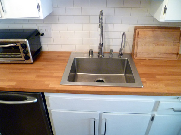 See All That Counter E On Either Side Of The Sink Now Is 25 Inches Wide Unlike Our Old 33 Inch S Purpose
