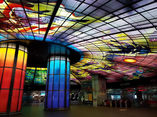 Dome of Light at Formosa Boulevard Station Kaohsiung