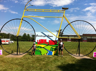 Pedaling for Parkinsons: RAGBRAI 2011