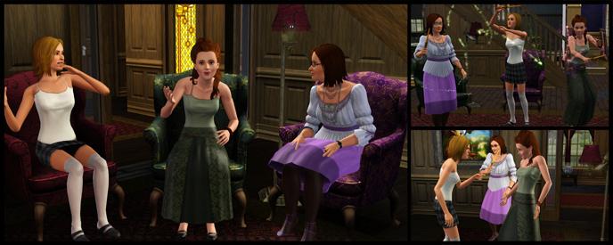 The Sims 3 Supernatural blogs - Pinguïntech