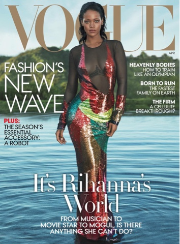 Rihanna for VOGUE April 2016 Magazine