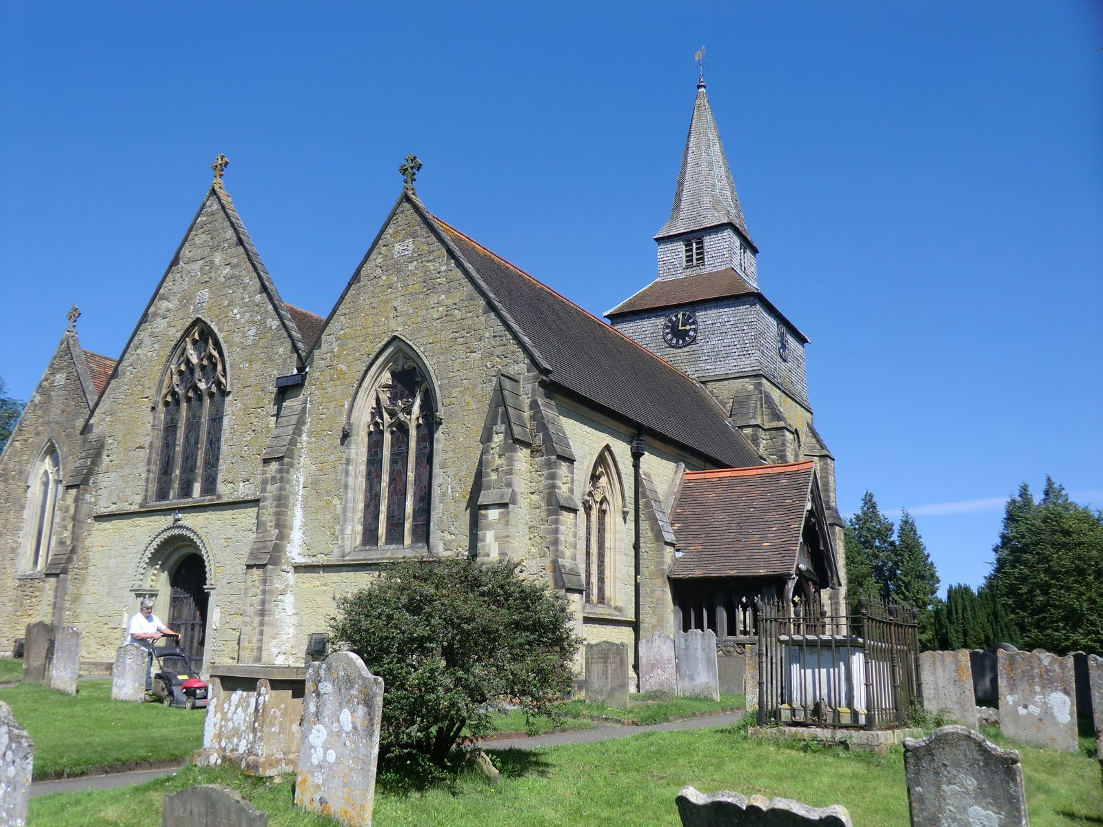 CIMG3134 St Nicholas' church, Church Town