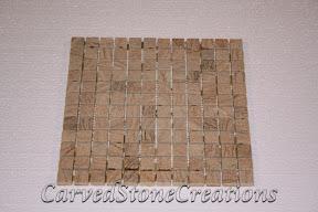 1x1, Flooring, Flooring & Mosaics, Interior, Mosaic, Natural, Sandstone, Stone, Tile