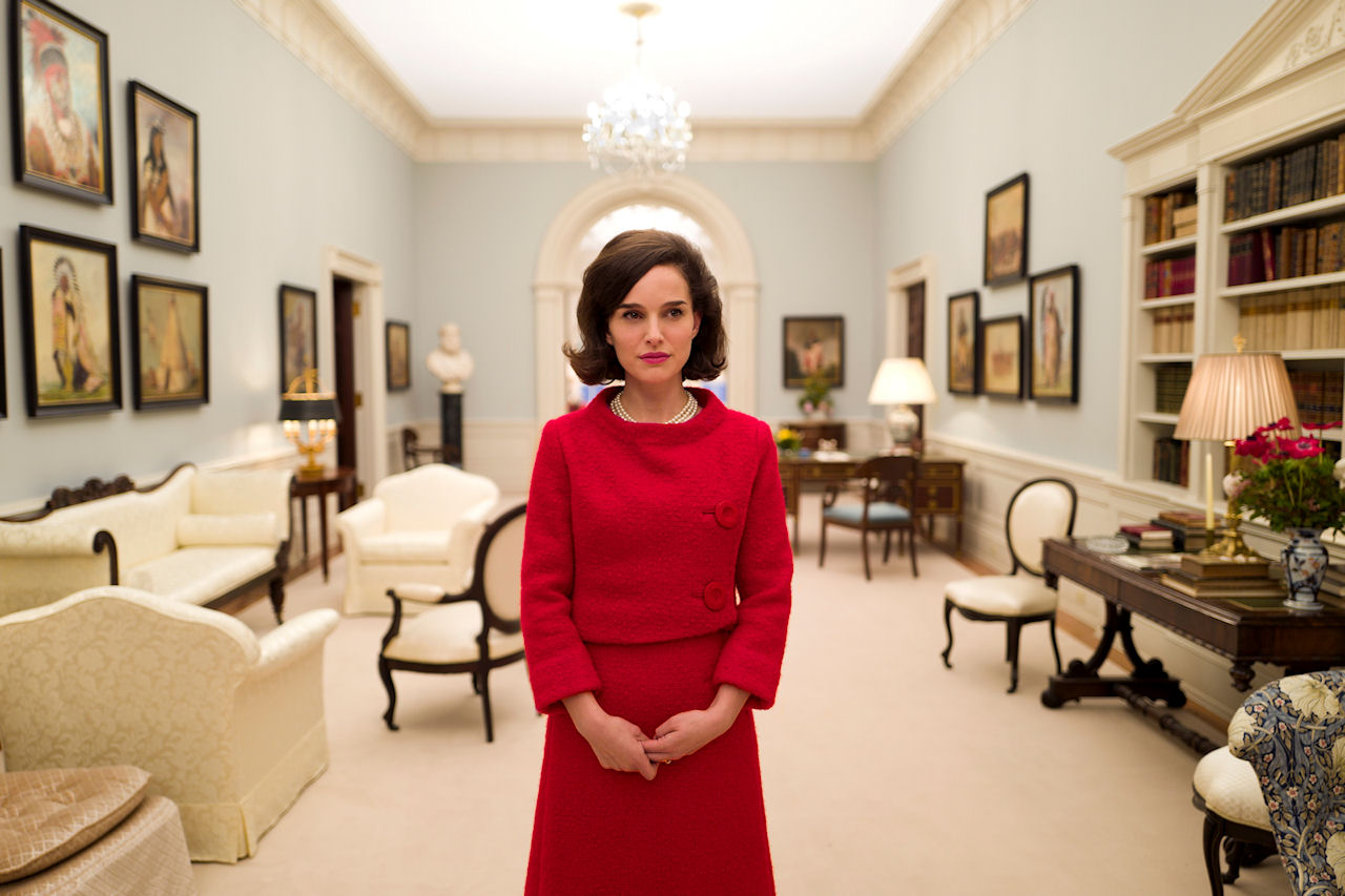 Natalie Portman stars in JACKIE. (Photo courtesy of Fox Searchlight Pictures).