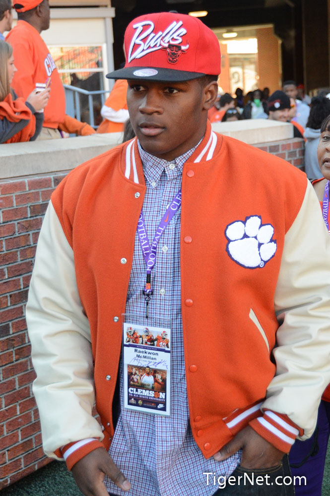 Clemson vs. NC State - Recruits Photos - 2012, Football, NC State, Raekwon McMillan, Recruiting