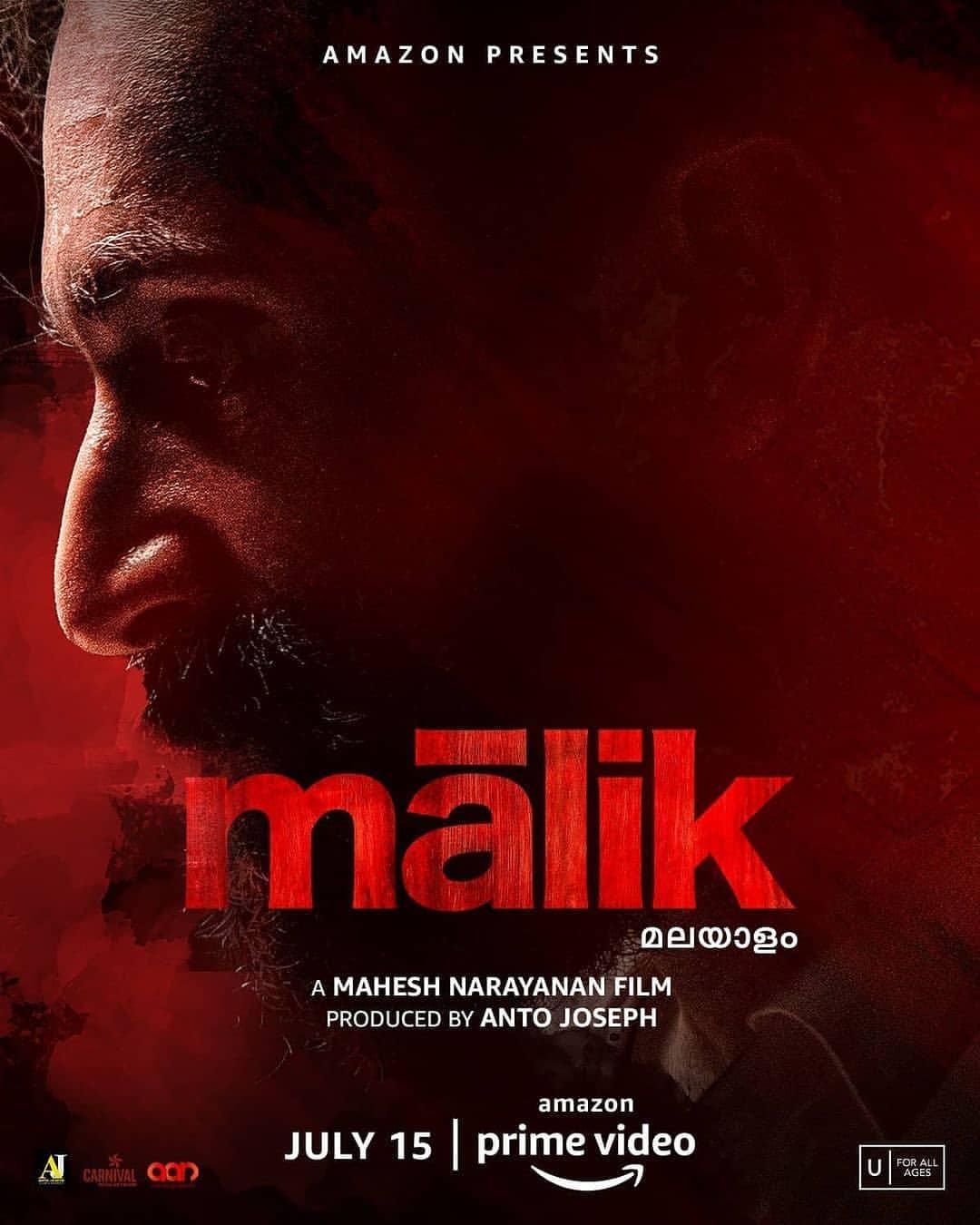 Review Film Malik 2021 Tayang Di Amazon Prime Video Review Film India Dan Series