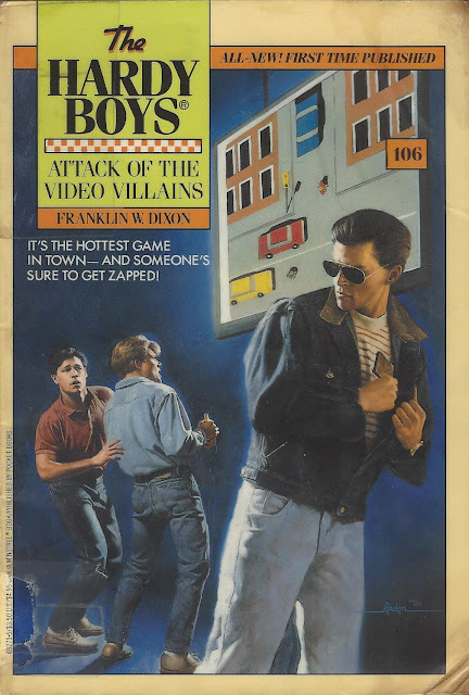 Attack of the Video Villains cover