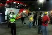 Dirlantas Polda Aceh Perintahkan Satlantas Polres Aceh Tamiang Periksa Suhu Tubuh Penumpang Kendaraan