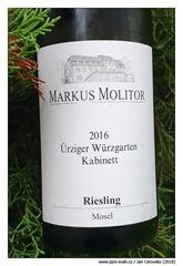 Markus-Molitor-2016-Riesling-Ürziger-Würzgarten-Kabinett-