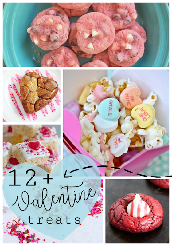 12  Valentine Treats at GingerSnapCrafts.com #valentine #treats