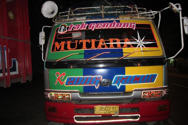 Автостоп, Индонезия, Машины в Индонезии
