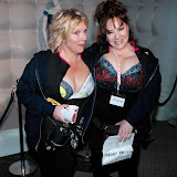 WWW.ENTSIMAGES.COM -  Jennifer Saunders and Harriet Thorpe   taking part in    The MoonWalk London May 11th 2013                                                   Photo Mobis Photos/OIC 0203 174 1069
