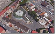 L'ex mercatino in via Monterosa